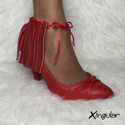 flecos piel roja stilettos xingular