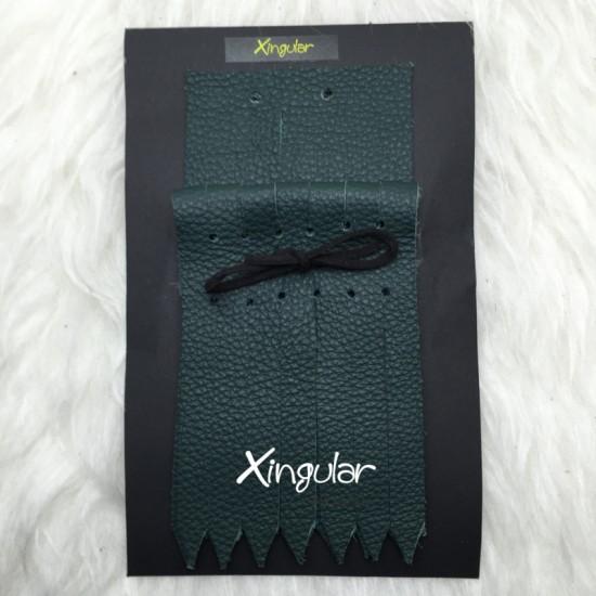 flecos piel deportivas verde botella pack xingular