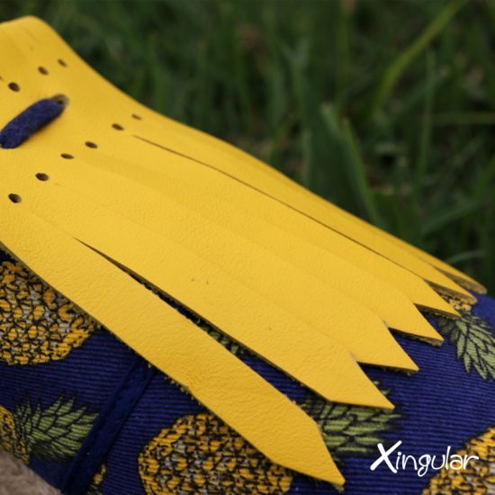 flecos zapatillas amarillo shot