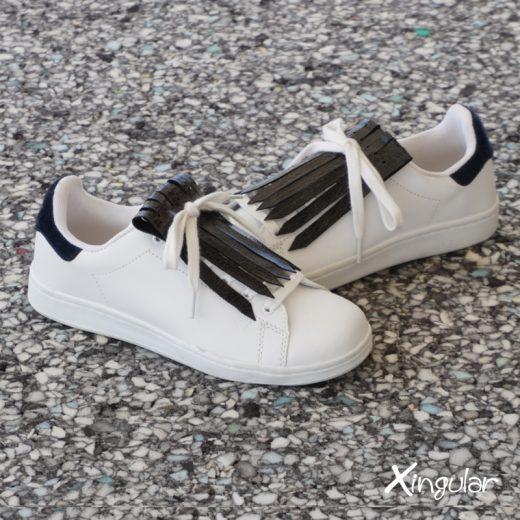 flecos zapatillas tornasolado par 2018
