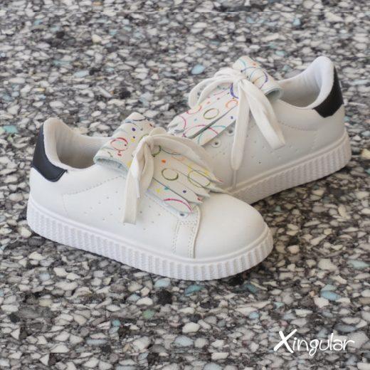 peke flecos zapatillas par 2018