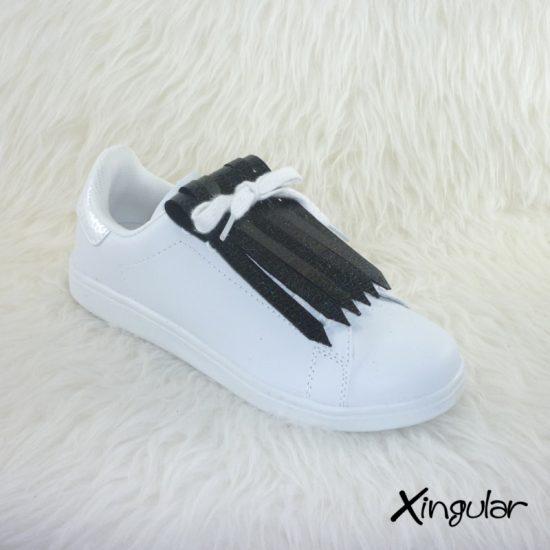 Flecos de Piel Tornasolado para zapatillas