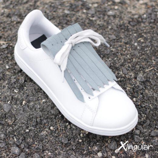 Flecos zapatillas gris pizarra