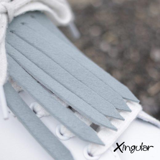 flecos zapatillas gris pelo shot