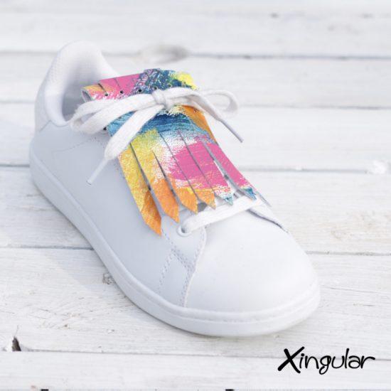 flecos zapatillas estilo arty