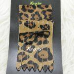 flecos zapatillas leopardo pack