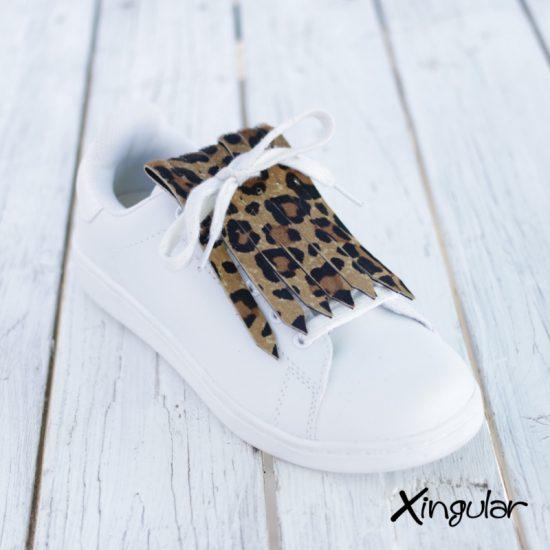 Flecos zapatillas leopardo