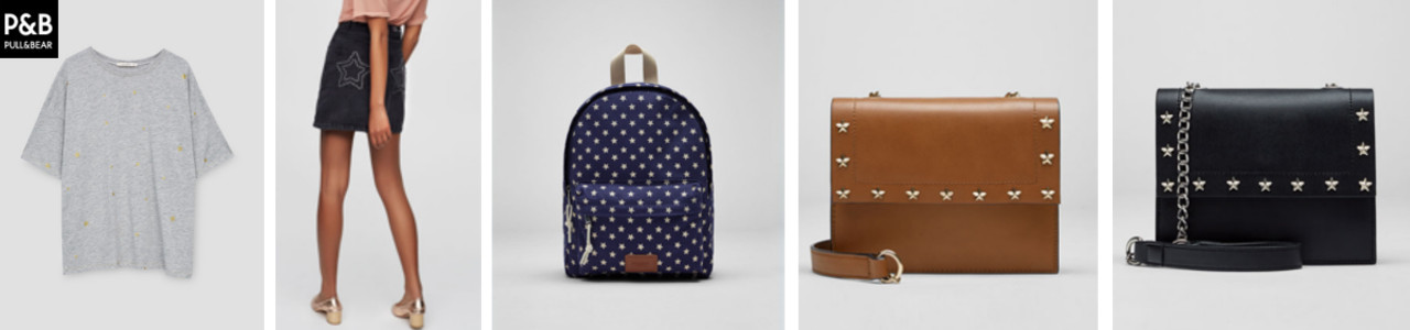 Estampado estrellas de pull and bear