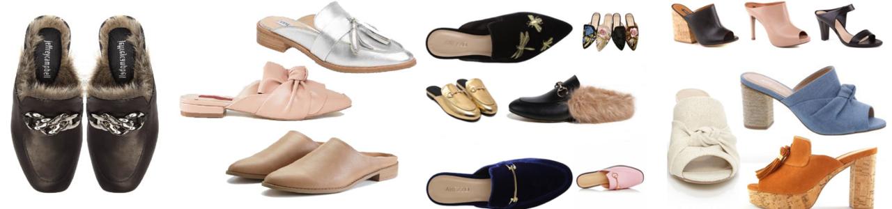 Zapatos Cómodos-Mules