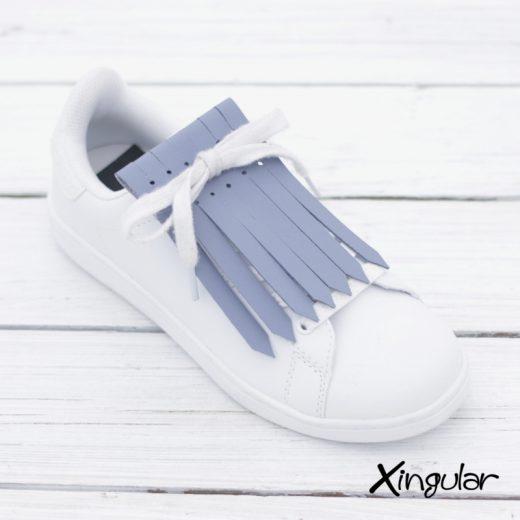 flecos zapatillas azul aireado