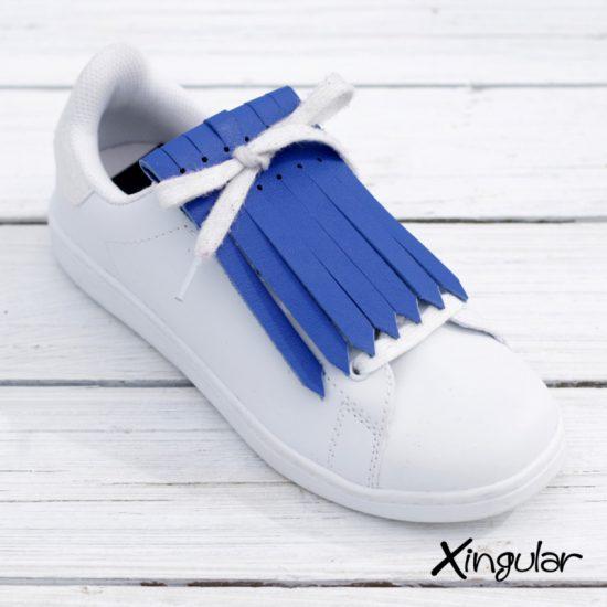 flecos zapatillas azul electrico