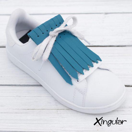 Flecos Zapatillas Azul Turquesa