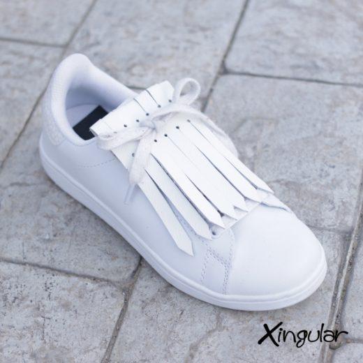 flecos zapatillas blanco cemento