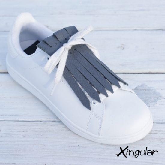 flecos zapatillas gris marengo