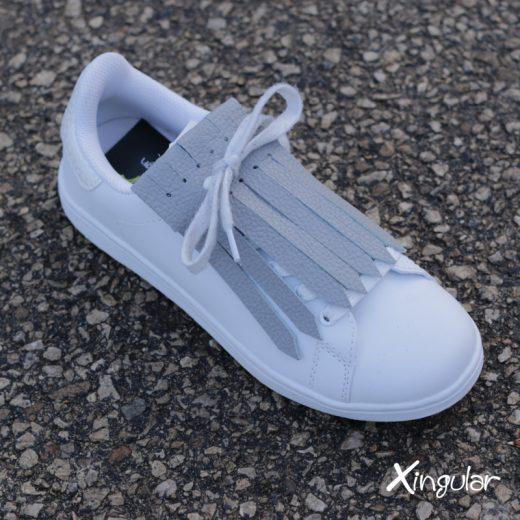Flecos Zapatillas Gris Perla asfalto