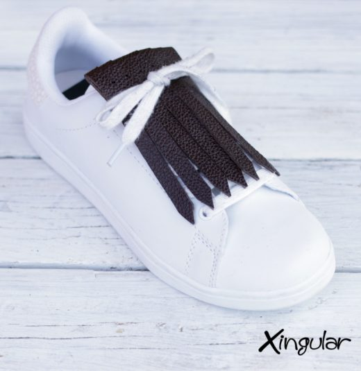 Flecos Zapatillas Marron Chocolate