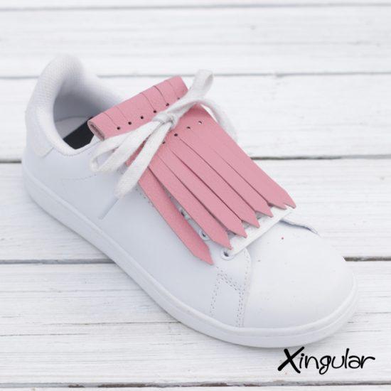 Flecos zapatillas Rosa Cuarzo