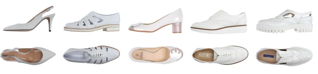 Zapatos Cómodos-Zapatos Blancos