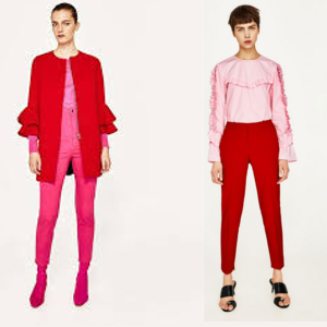 Cómo vestir en primavera look-rosa