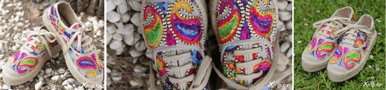 Alpargatas multicolor