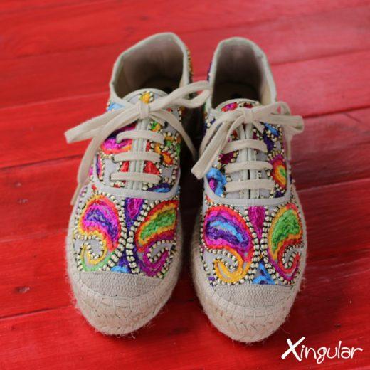 Sneakers Yute Talima Beige Mujer par 2