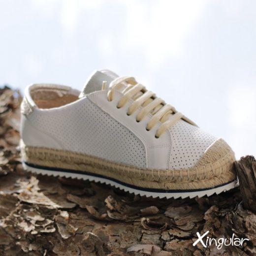 Sneakers Yute Blanco Perla