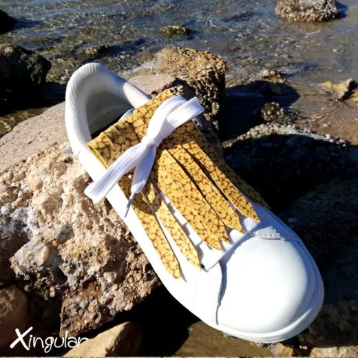 flecos zapatillas murano mostaza