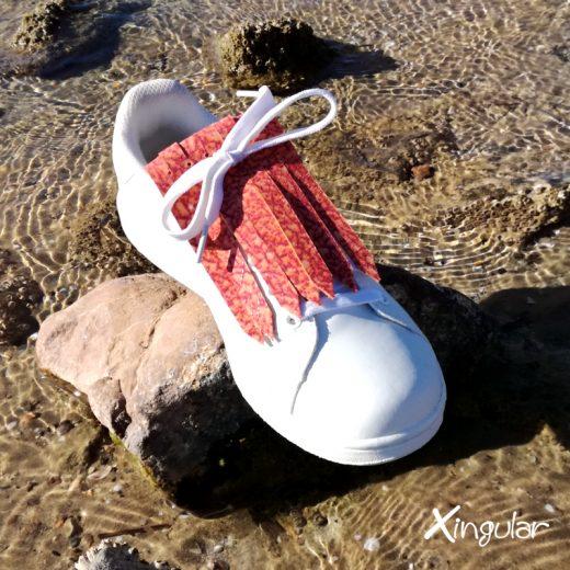flecos zapatillas murano rojo mar