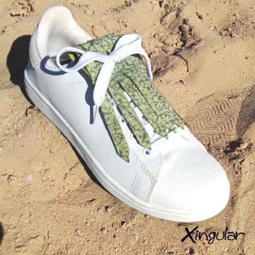 flecos zapatillas murano verde