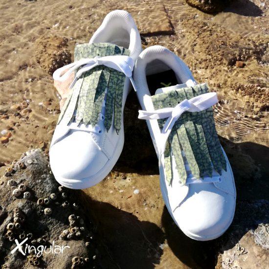 flecos zapatillas murano verde mar