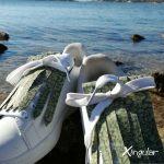 flecos zapatillas murano verde mar detalle