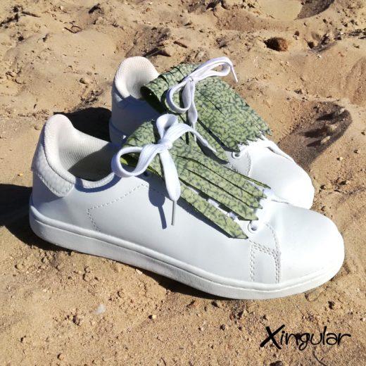 flecos zapatillas murano verde par