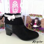 cubrebotas monster high