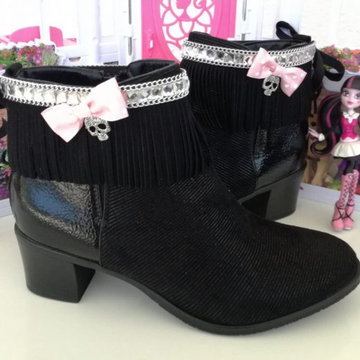 cubrebotas monster high par