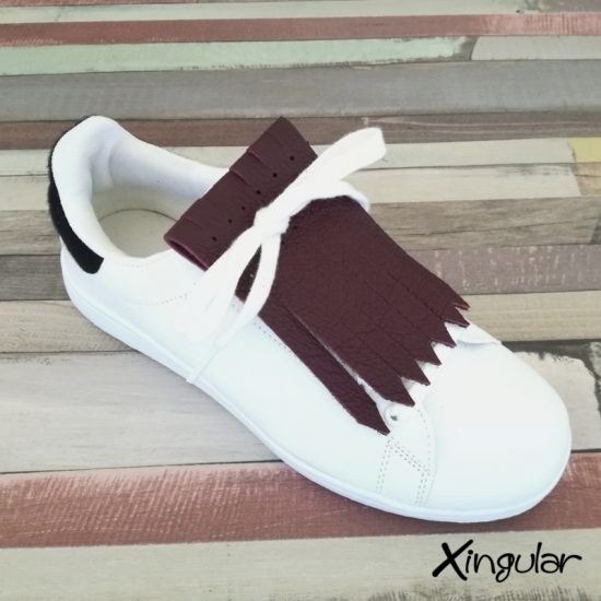 flecos zapatillas rouge noir