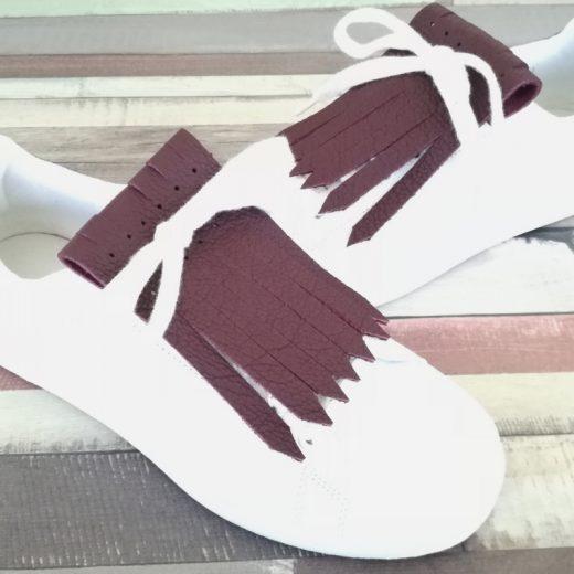 flecos zapatillas rouge noir par