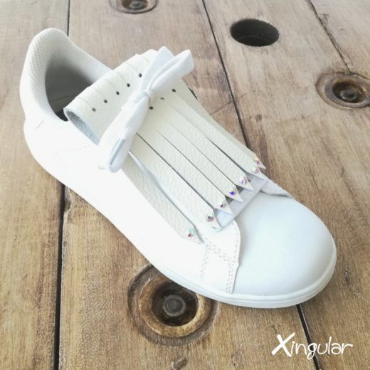 flecos zapatillas swarovski cristal