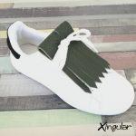 flecos zapatillas verde bosque
