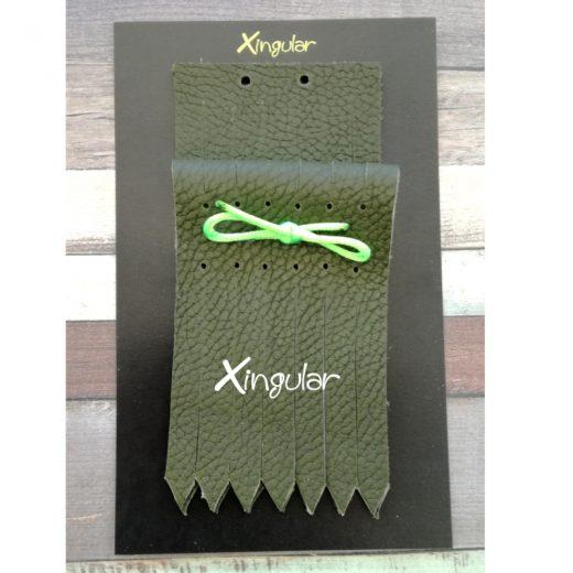 flecos zapatillas verde bosque pack