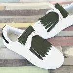 flecos zapatillas verde bosque par
