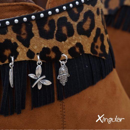 cubrebotas leopardo 2018 BM detalle