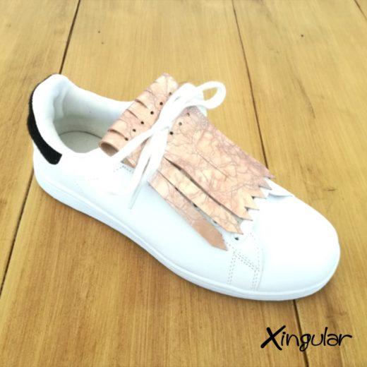 Flecos Zapatillas Rosa Cuarteado