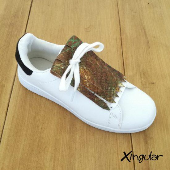 Flecos Zapatillas Serpiente Camuflaje