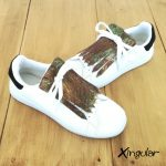 flecos zapatillas serpiente camuflaje par