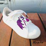 flecos zapatillas unicornio