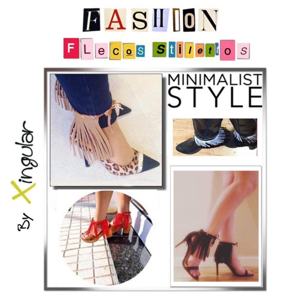 Razones para usar flecos para zapatillas - Flecos-Stilettos