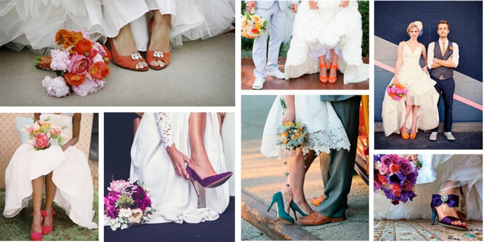 Adornos para zapatillas de novia - Zapatos de novia a juego del ramo