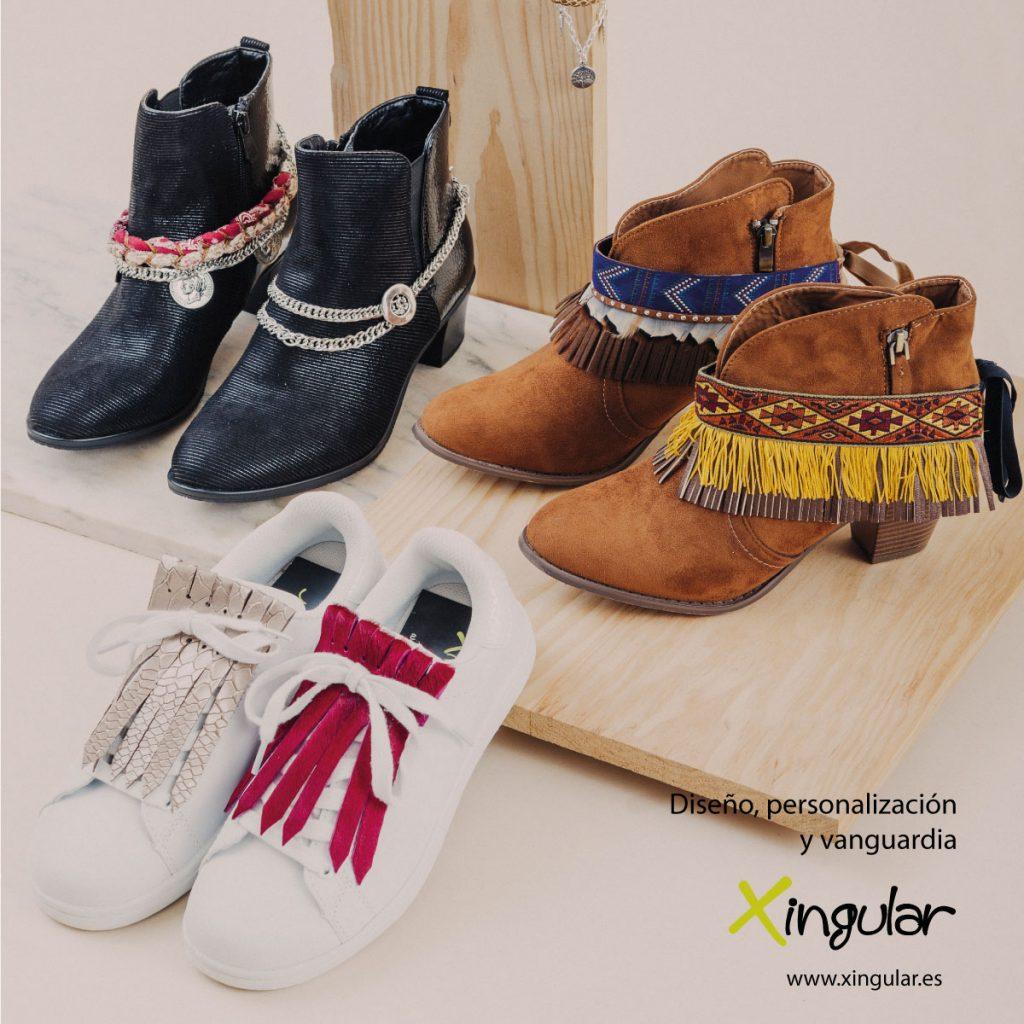 Razones para usar flecos para zapatillas - cartel Shopper magazine