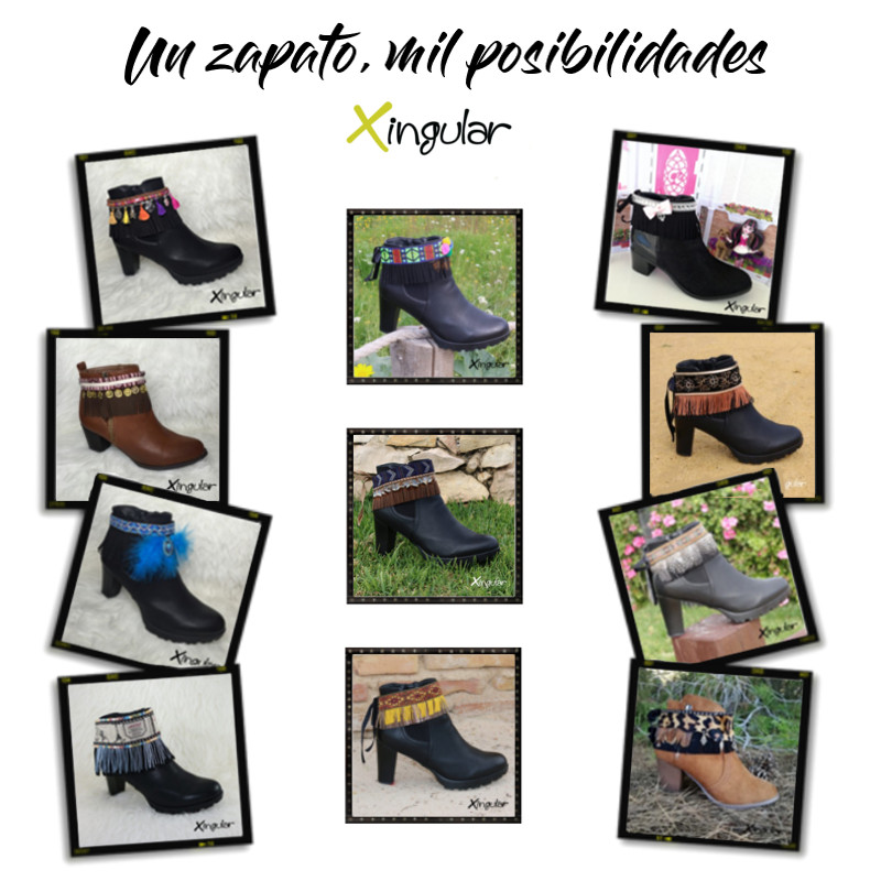 ideas adornar zapatos-Cubrebotas