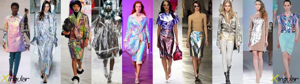 La moda holográfica, vuelve de nuevo y es para quedarse. - Pasarela